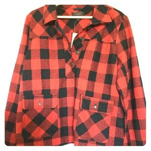 J.Crew Buffalo Checkered Flannel
